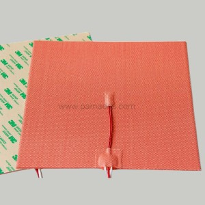 Silicone Heater with Adhesive