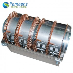 Industrial High Efficiency Air Cooled Ceramic Band Heater with Copper Fins