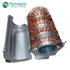 Air cooling heater with fins