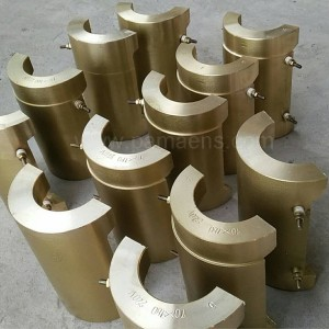 Cast Brass Band Heater