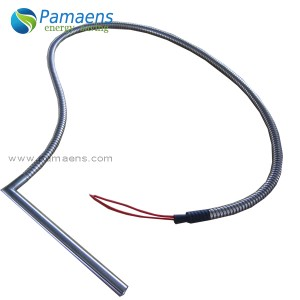 High Quality Waterproof Heating Element with Right Angel Lead with Two Year Warranty