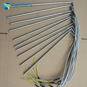 Right Angle Die Heating Element High Density Cartridge Heater Supplied by Professional Factory Directly