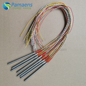 PAMAENS High Temperature Cartridge Heater with Thermocouple with Fast Delivery