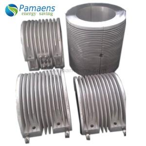 High heating efficiency custom aluminum extruder band heater