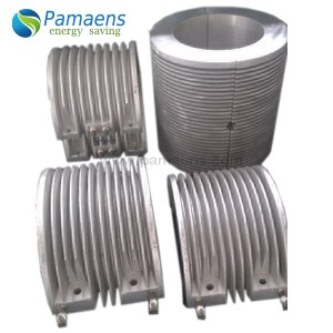 Factory Made Finned Air-Cooled Electric Cast-in Barrel Heater with Long Lifetime