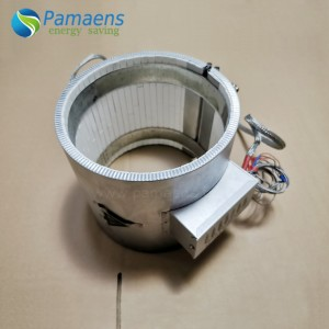 High Power Density Ceramic Insulated Band Heater with Lifetime More Than 5 Years