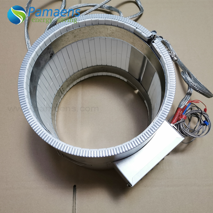 High Power Density Ceramic Insulated Band Heater with Lifetime More Than 5 Years Featured Image