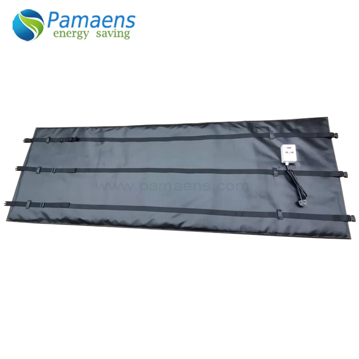 Pipe Curing Heater Blanket Mat with Thermostat and Overheat Protection Featured Image