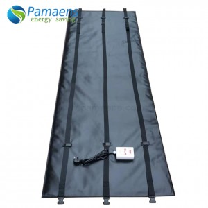 Customized Plastic Drum Heating Blanket with Thermostat and Overheat Protection