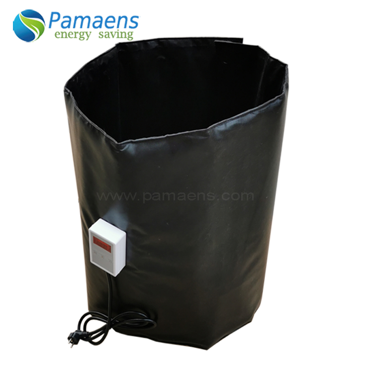 Customized 2000 watt Drum Heater Heating Blanket with Thermostat and Overheat Protection Featured Image