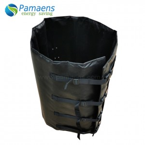 Insulated Drum Warmer with Thermostat and Overheat Protection
