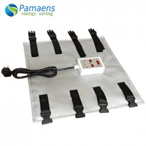 High Quality One Year Warranty Drum Heating Bands with Digital Thermostat and Overheating Protection