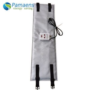 Factory Supplied Industrial 230v Drum Heater Pad For Oil Drum with One Year warranty