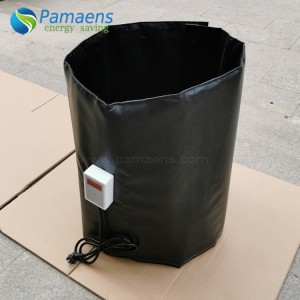 Factory Supplied Best Oil Drum Heating Blanket for Electric Water Heater