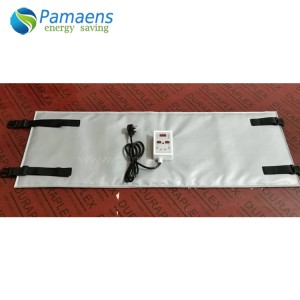 Energy Saving Insulated Industrial Tank Heating Pads with Custom Size