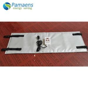 High performance Custom Waterproof Flexible Pipe Heating Jacket, Anti Freezing Jacket