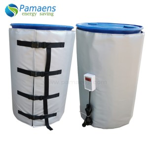 Customized 200L Plastic Drum Heater Belt with Thermostat and Overheat Protection