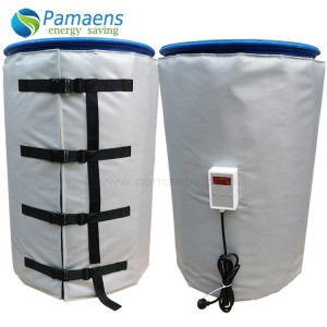 Factory Supplied 200L Industrial Drum Heater with Adjustable Thermostat and Overheat Protection