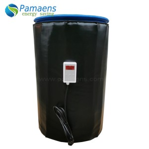 Factory Supplied Electric 5/15/30 or 55 Gallon Heavy Duty Drum Heaters Blankets With Thermostat