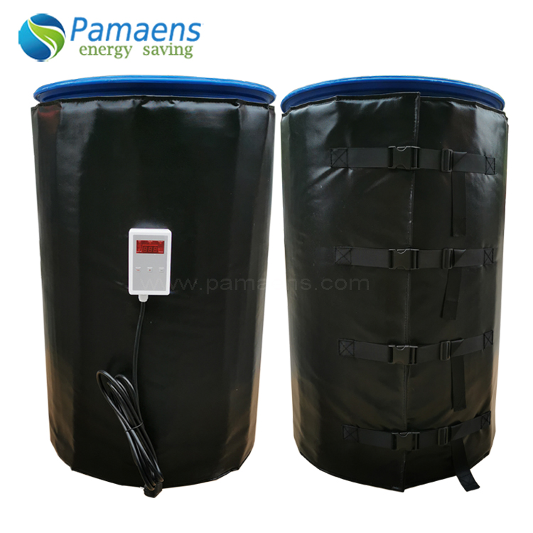 Factory Supplied Electric 5/15/30 or 55 Gallon Heavy Duty Drum Heaters Blankets With Thermostat Featured Image
