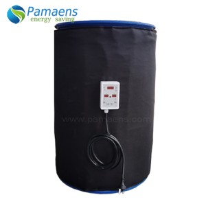 Customized 55 Gal Drum Heater Kit with Thermostat and Overheat Protection
