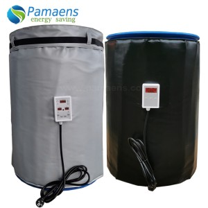 Customized 55 gallon Drum Heater Kit with Thermostat and Overheat Protection