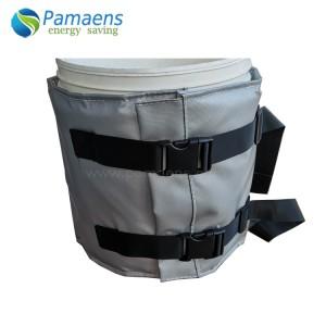 Durable Heating Jacket Blanket for Plastic Bucket, Bucket Warmer with Temperature Control