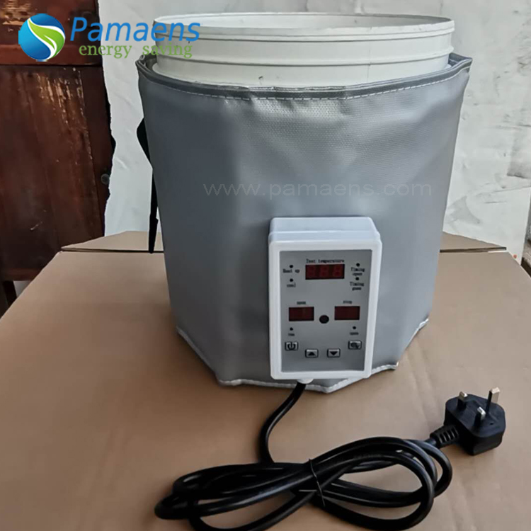 Durable Heating Jacket Blanket for Plastic Bucket, Bucket Warmer with Temperature Control Featured Image
