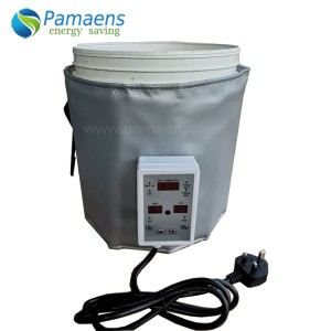 Durable Heating Jacket Blanket for Plastic Bucket, Bucket Warmer with Temperature Control