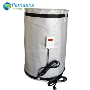 Customized Heavy-duty 55 Gallon Drum Heater with Thermostat and Overheat Protection