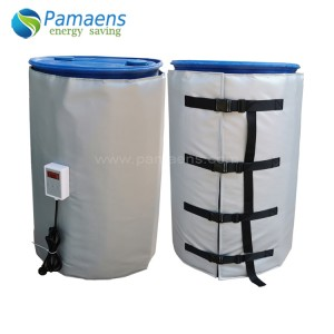 Customized Industry Blanket 200 l Drum Heater with Temperature Adjustable