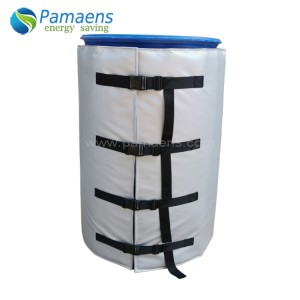 Best 55 Gallon Flexible Drum / Barrel Blanket Heater with One Year Warranty