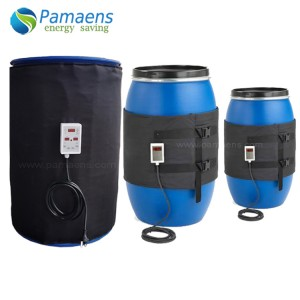 Customized Flexible 55-Gal Metal Drum Heater with Temperature Adjustable