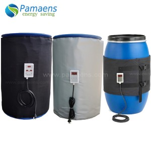 Good Performance Drum Heater, 55gal, 8.7a,115v, 50-425deg Supplied by Factory Directly