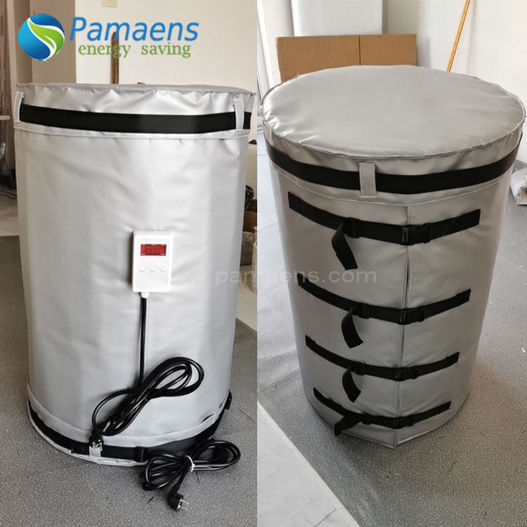 Offer Customized 220L Drum Heating Blanket Jacket with Digital Adjustable Temperature Control Featured Image
