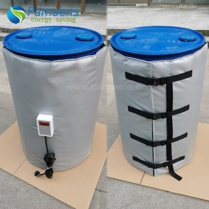 High Performance Oil Drum Heater Blanket Heating Jacket with One Year Warranty