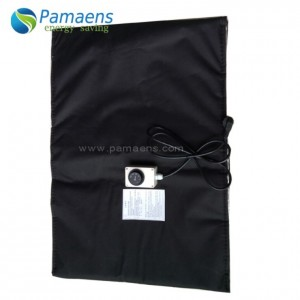 Electric Heating Blanket for 55 Gallon Steel Drums with Thermostat