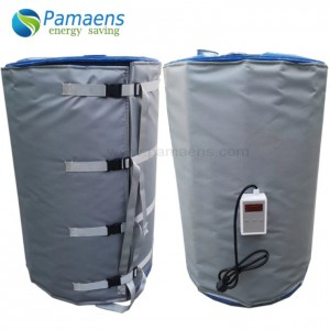 High Quality 200L Barrel Heater Jacket with Digital Temperature Controller Supplied by Chinese Factory Directly