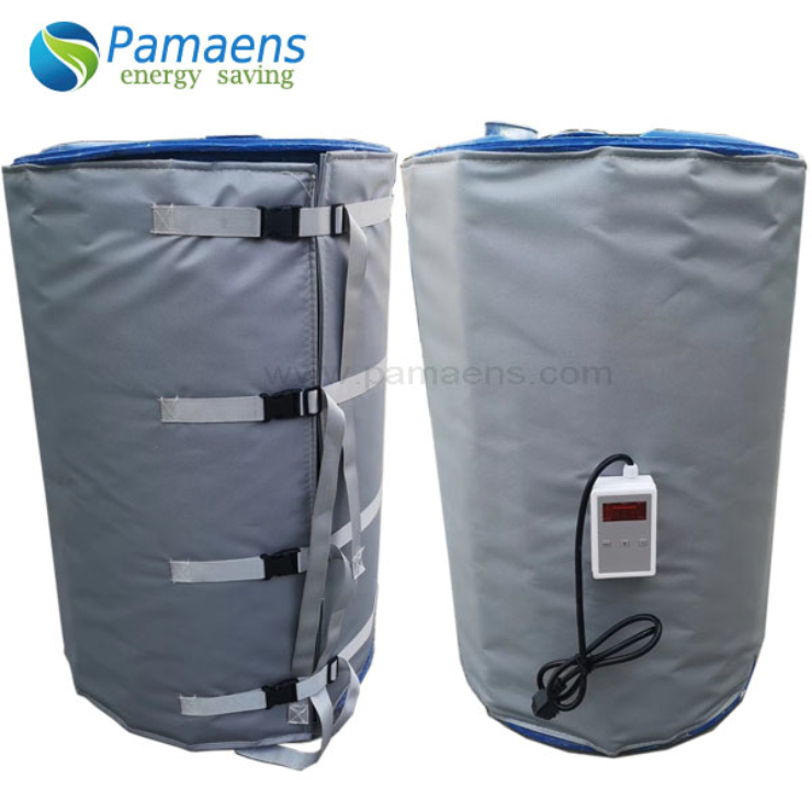 High Quality 200L Barrel Heater Jacket with Digital Temperature Controller Supplied by Chinese Factory Directly Featured Image