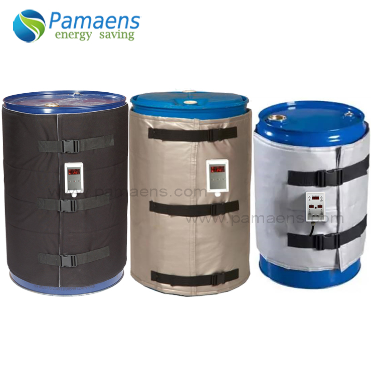 Heating Jacket Temperature Controlled 200L Drum Heater with 10mm Thermal Insulation Featured Image