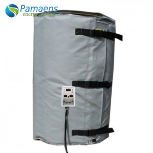 Popular Heating Blanket For 200L Oil Drum, Best Choice for Heating Oil, Honey, Water