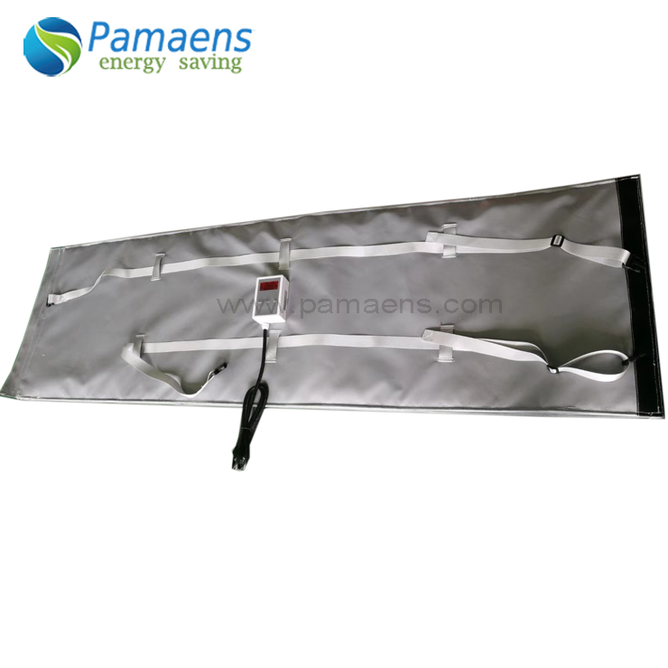 Pipe Heating Belt for Curing FRP Tube Curing Heater Blanket Mat with Thermostat and Overheat Protection Featured Image