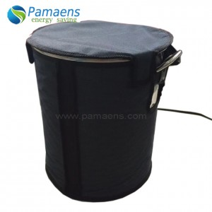 Good Performance Full Coverage Insulated Drum Heaters Supplied by Factory Directly