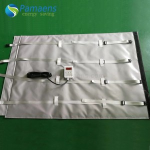 Popular Custom Power Blanket for 1000 L IBC tote, Best Choice for Heating Oil, Honey, Water