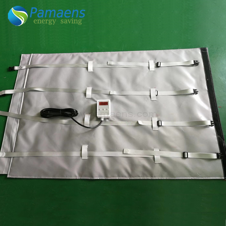Popular Custom Power Blanket for 1000 L IBC tote, Best Choice for Heating Oil, Honey, Water Featured Image