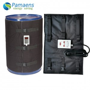 Chinese Factory Made Electric Industrial Drum Heating Blanket with Digital Temperature Controller