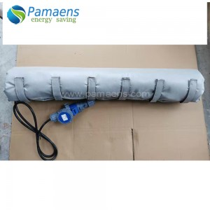Insulated Pipe Heating Jacket Anti-freezing Pipe Warmer with adjustable Temperature Control