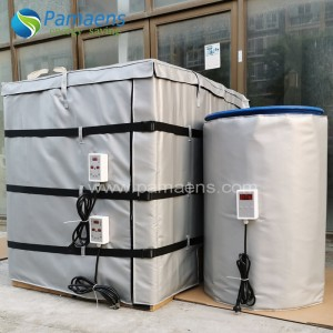 10% Off, Chinese Factory Sell High Quality IBC Container Heaters Tote Tank Heating Jackets with Temperature Controller