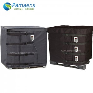 Popular Long lifetime IBC / Drum Insulation Blanket Tank Heater, Best Choice for Heating Oil, Honey, Water