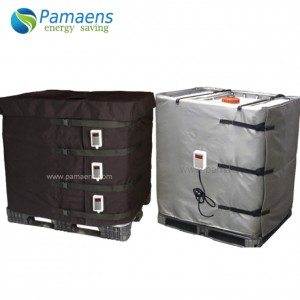 Good Performance Tote Heated Blanket for 275 Gallon IBC Supplied by Factory Directly